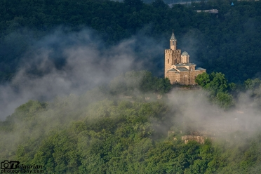 Morning mists over Veliko Tarnovo