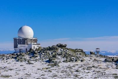 The air traffic radar on Cherni vrah
