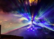 3D Mapping laser show