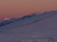 Botev and Golyam Kademlia peaks at sunset lights