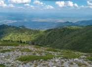 По склоновете на връх Ореляк
