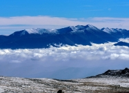 The Rila Mountain and Musala peak, view from Cherni vrah