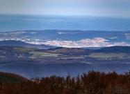 Велико Търново гледано от Бузлуджа