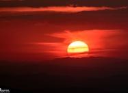 September sunset from Chumerna peak