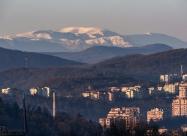 Част от Велико Търново и връх Ботев на заден план