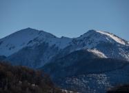 Boba peak at left and Dog peak at right