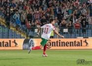 Станислав Манолев ликува след отбелязването на първия гол във вратата на Швеция от 1993г.