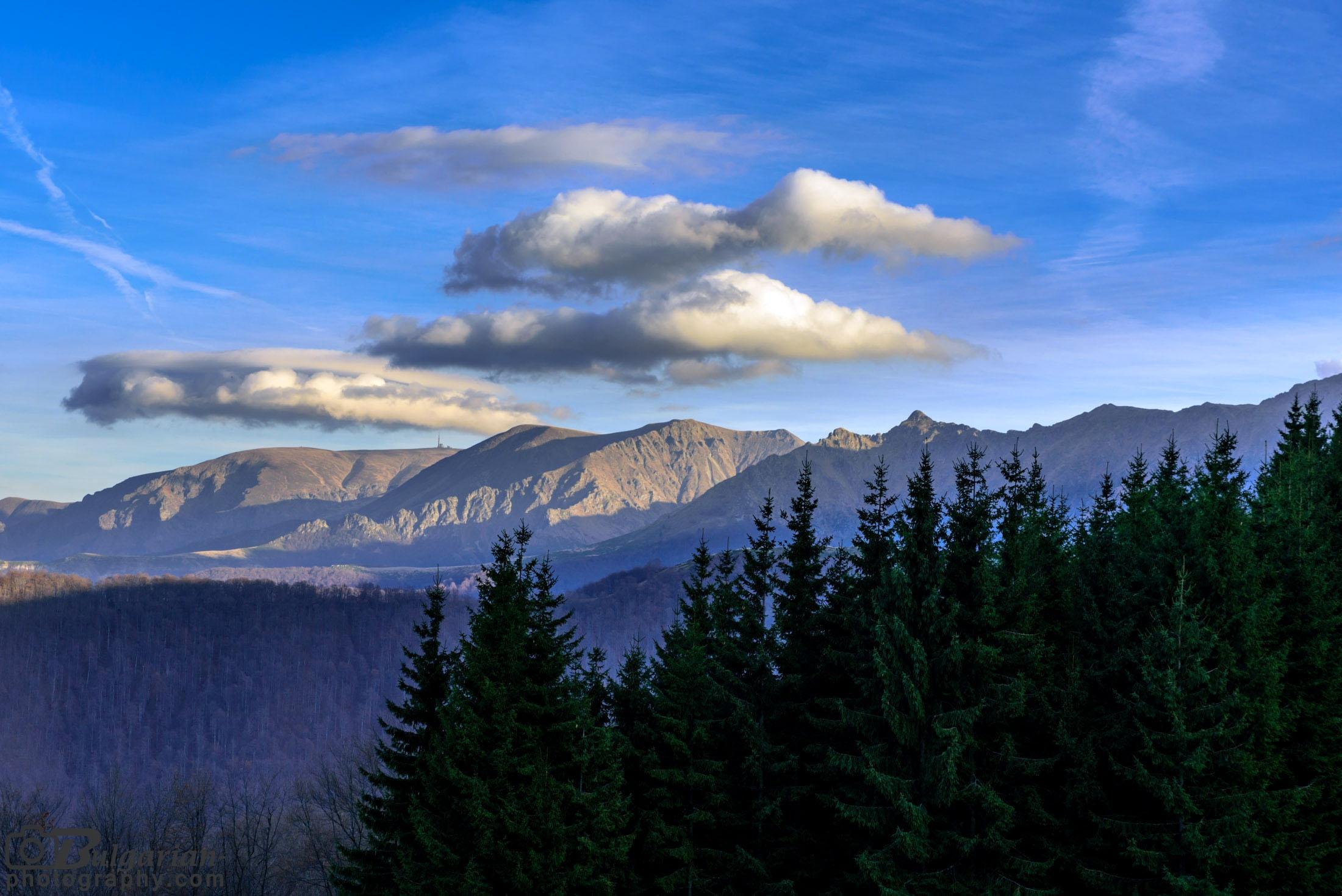 Изгледа към връх Ботев от хижа Амбарица
