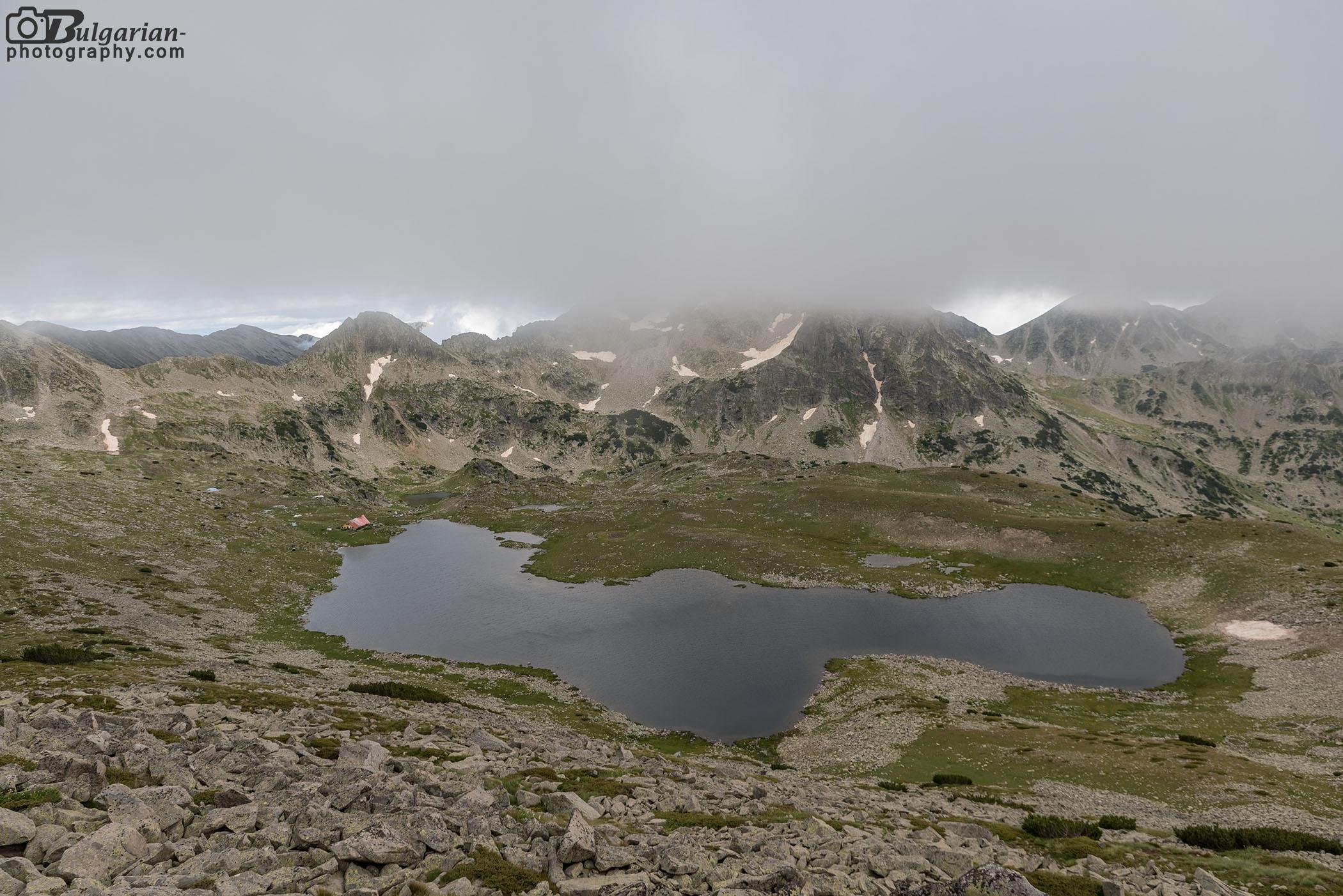 Тевно езеро гледано от Валявишки чукар