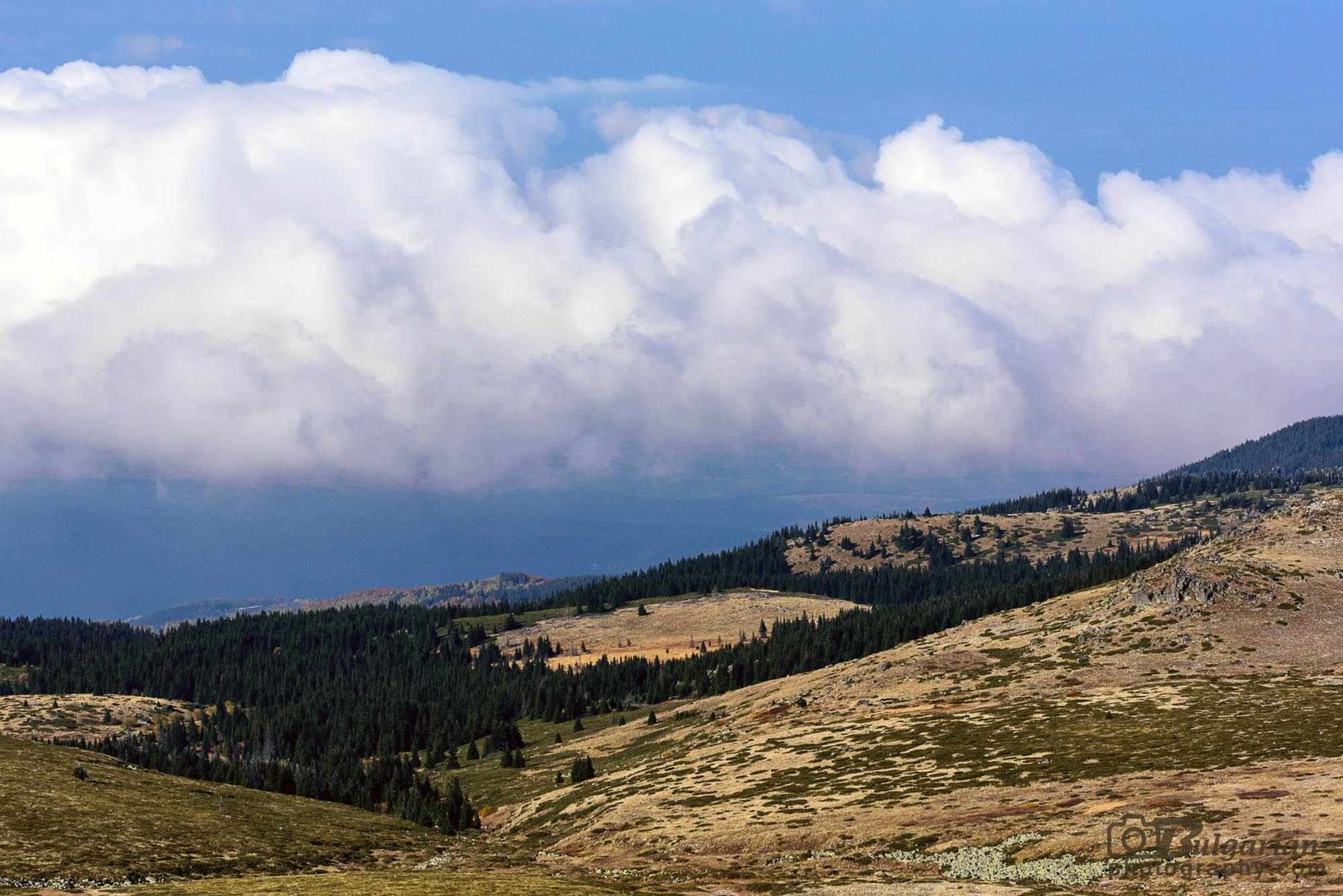 Поглед на север от Черни връх
