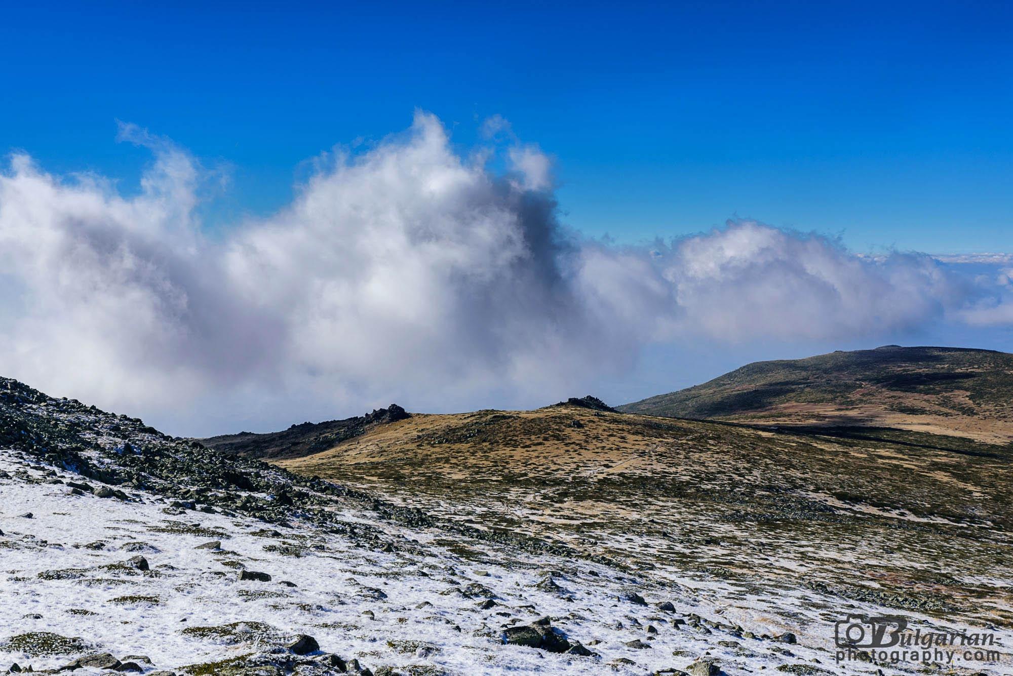 Поглед на изток от Черни връх
