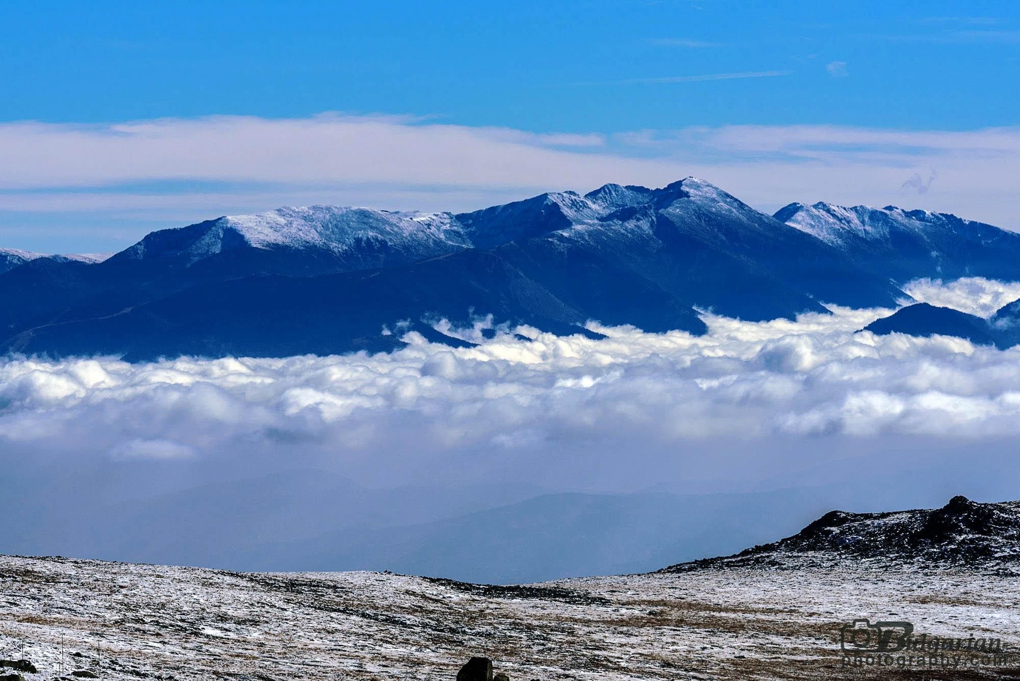 Рила и връх Мусала гледани от Черни връх