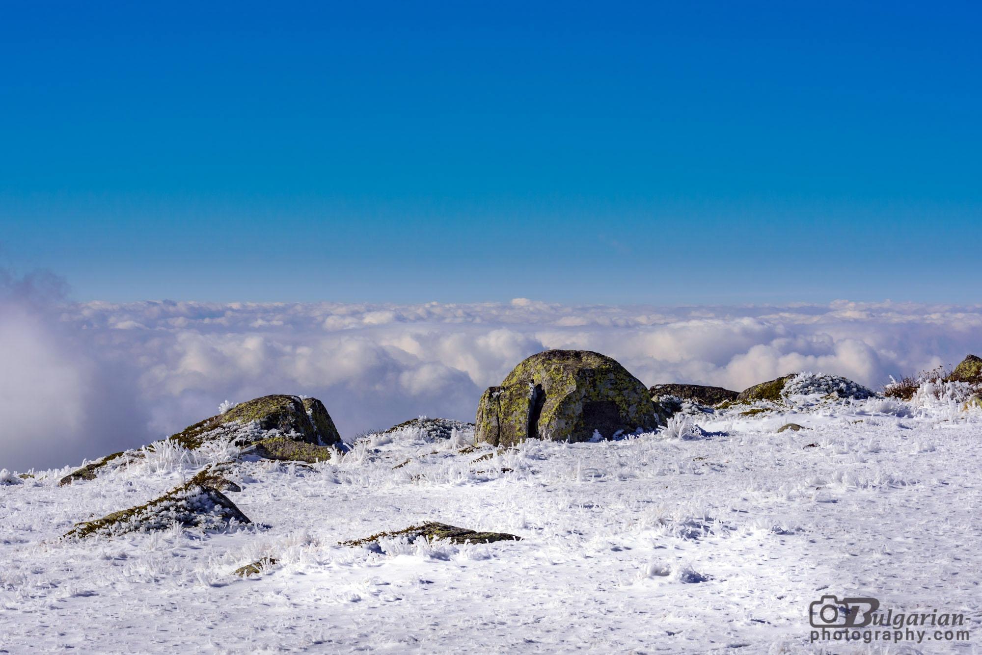 Поглед на запад от Черни връх