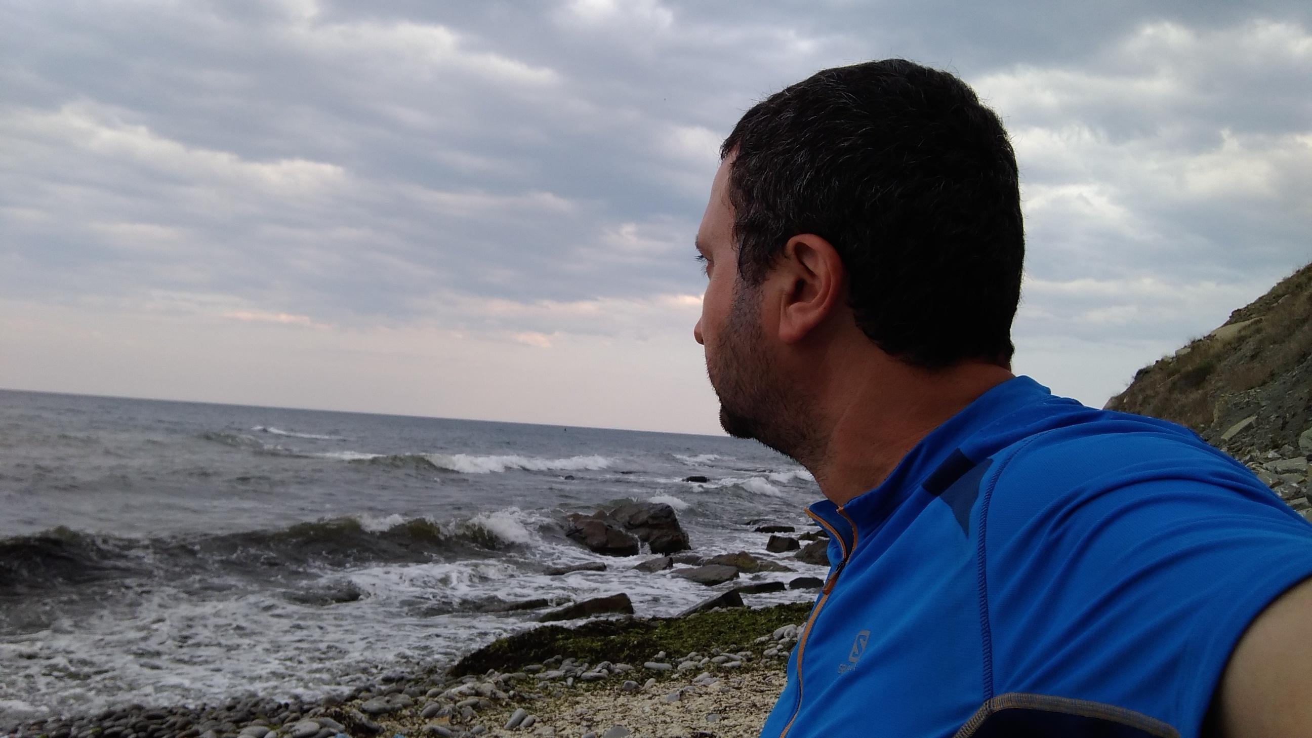 На брега под нос Емине