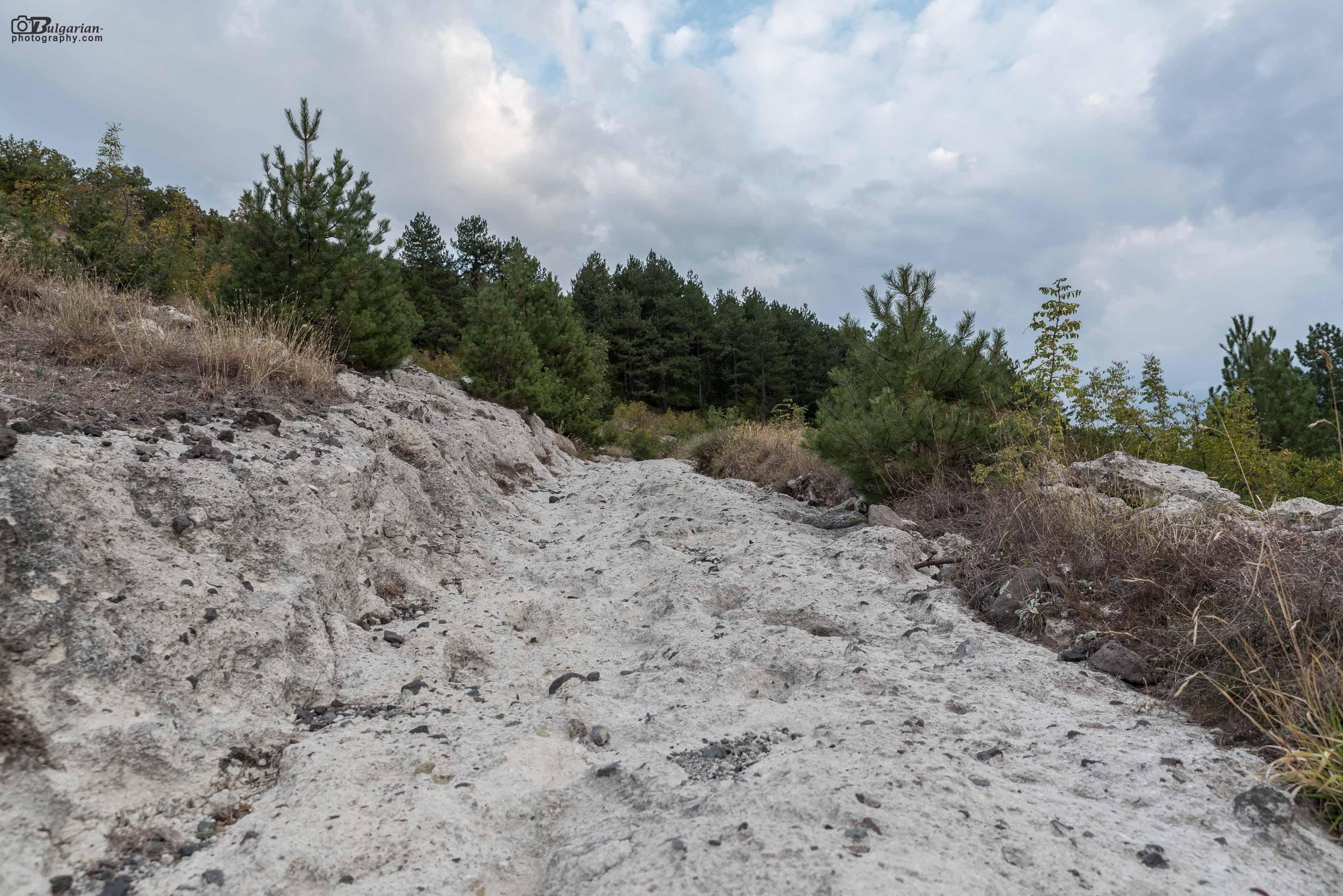 Каменният път към крепостта
