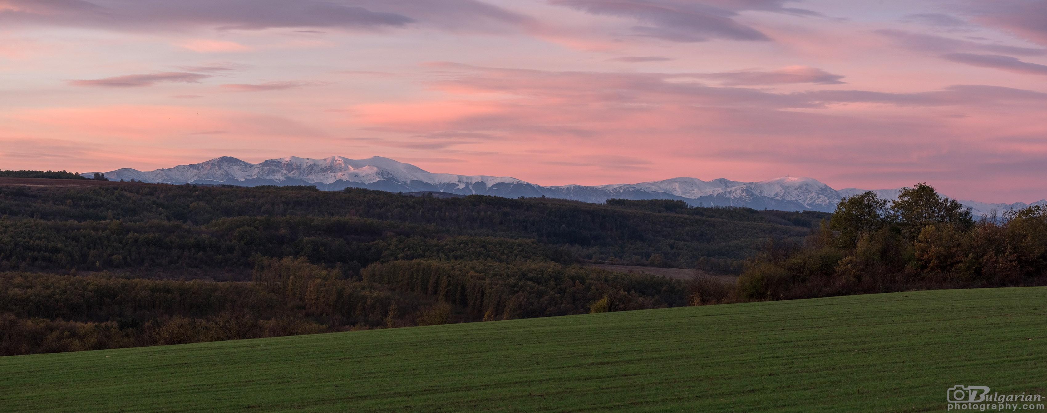 Central Stara Planina in late autumn