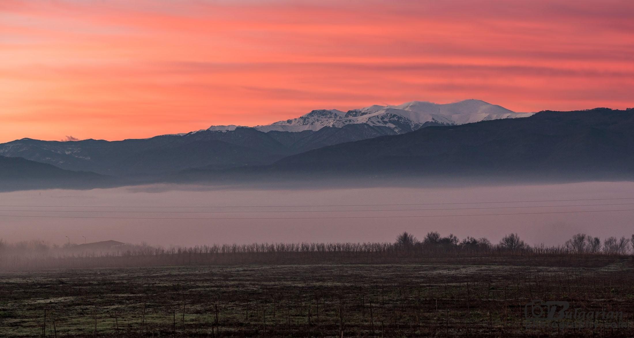 Зимни пейзажи от Стара Планина
