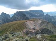 На връх Ловница. Поглед в посока на Мальовица