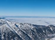 Панорама от Мальовишкият дял до Витоша