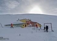 Зимна сутрин на заслон Ботев