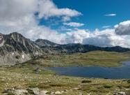 Понорама на Тевно езеро