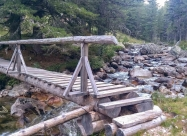 Мостчето през Демиркалийска река