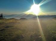 Малко преди хижа Дерменка, до самият връх Дерменка. На това място си дадох сметка какво разстояние съм изминал за деня виждайки в далечината връх Вежен. Тук вече бях сигурен, че ще успея с прехода