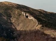 Маркова дъпка гледана от билото над хижа Амбарица