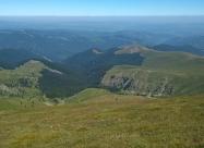 Поглед на север от връх Амбарица