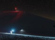Нощно спускане към заслон Ботев