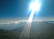 На слизане от връх Вежен