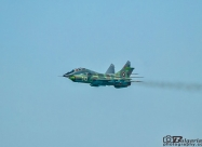 MiG-21 and MiG-21 arriving at the airshow