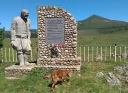 Паметникът на загиналите войници