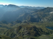 Панорама към Мальовица от връх Дамга