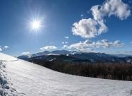 Участъкът с голямото затъване в подножието на връх Корита