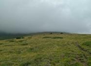 След Ангелов връх, преди слизането към хижа Македония