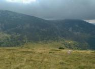 Стръмното слизане към хижа Македония
