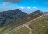 Поглед назад към връх Албутин