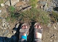 От хижа Рилски езера до тук по сандали