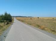 Поглед назад към село Средна махала