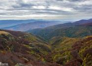 Поглед на юг от Бабското пръскало