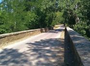 Мостът на река Камчия малко преди село Дъскотна