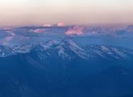 Rila Mountain and Musala peak viewed from Cherni Vrah