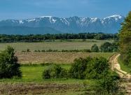 Изглед към Северен Джендем. Някъде между селата Крамолин и Агатово