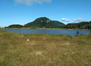 Езерото над хижа Тръстеная