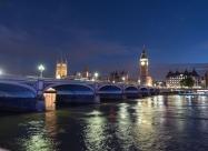 Биг Бен и Уестминстърският мост
