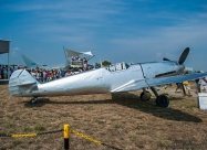 Messerschmitt Me-109 at static display