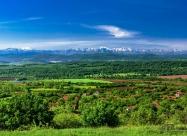 Изгледа над село Брестово