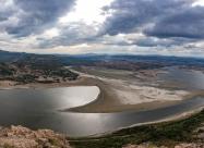 Панорама от крепостта Моняк.