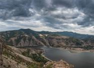 Панорама от крепостта Моняк